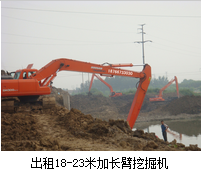 加长臂挖掘机行业存在的问题!