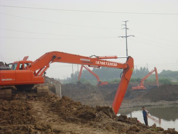 挖掘机改装加长臂后的故障分析!